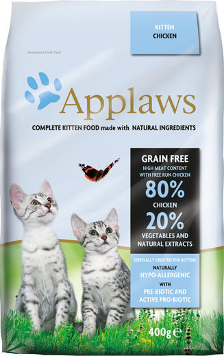 Applaws kissa kitten kuivamuona 400g