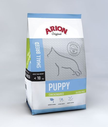 Arion Original Puppy Small Kana & Riisi 7,5 kg koiranruoka