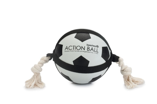 Beeztees Action Ball jalkapallo 19cm, koiranlelu